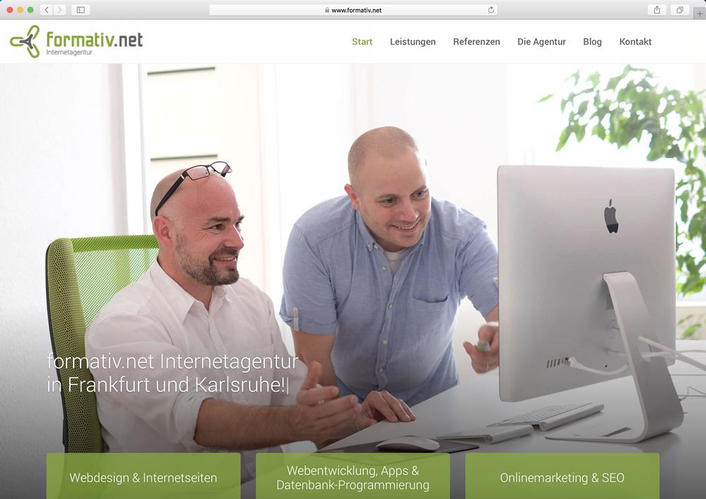 Internetagentur Frankfurt Karlsruhe