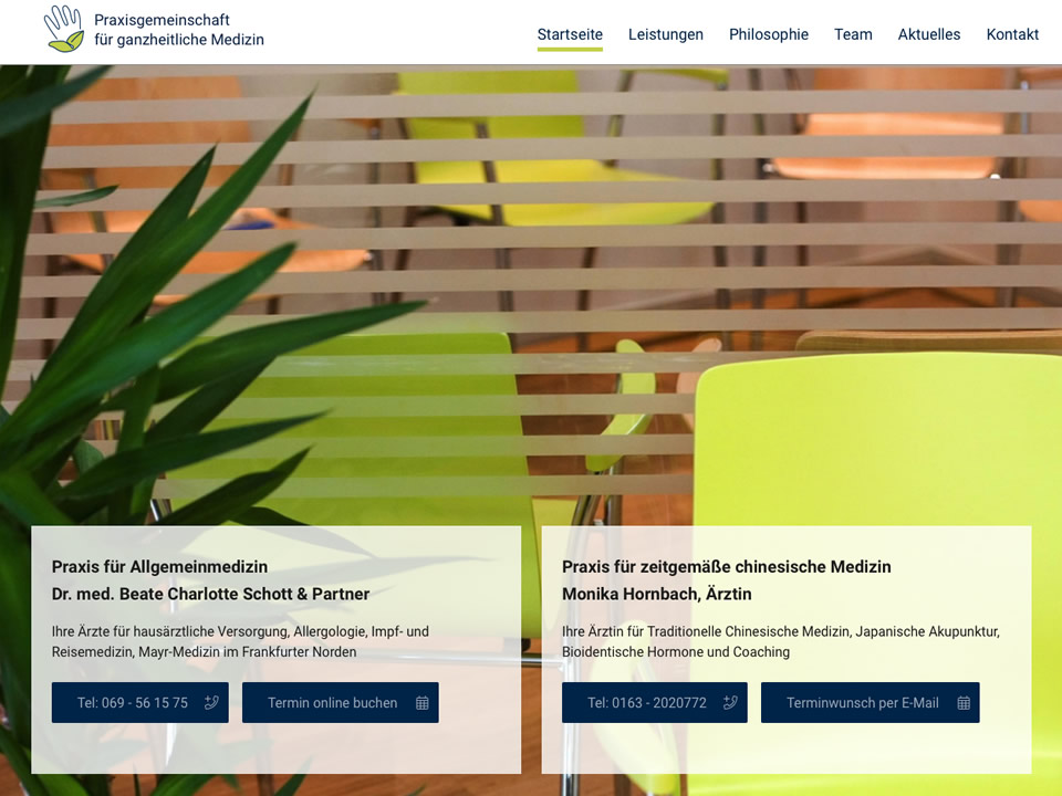 Webdesign Praxis Schott - Joomla! CMS
