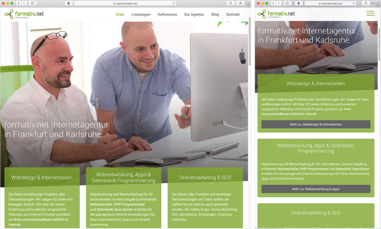 Breakpoint im Responsive Webdesign